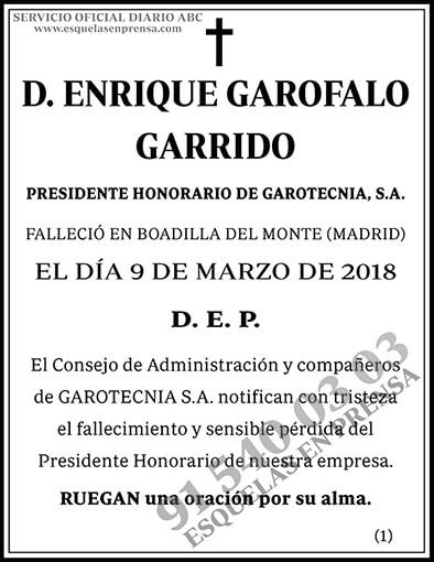 Enrique Garofalo Garrido